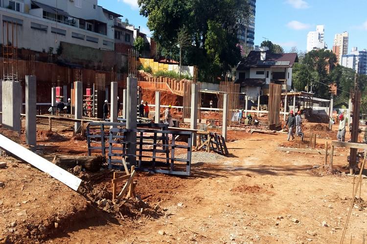 Inicio das obras - Chronos Residencial - Março/Abril/2014