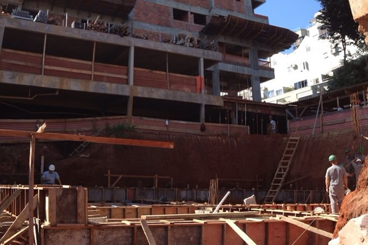 Andamento das obras - Chronos Residencial - Março/2015