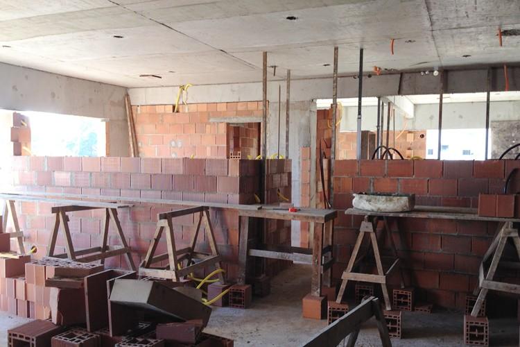 Andamento das obras - Chronos Residencial - Maio/2015