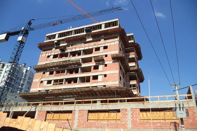 Andamento das obras - Chronos Residencial - Julho/2015