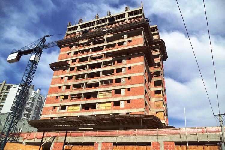 Andamento das obras - Chronos Residencial - Agosto/2015