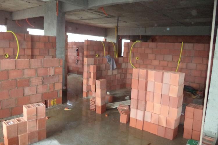 Andamento das obras - Chronos Residencial - Setembro/2015