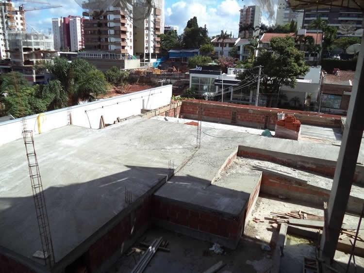 Andamento das obras - Chronos Residencial - Março/2016