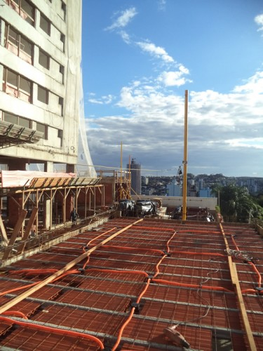 Andamento das obras - Chronos Residencial - Abril/2016